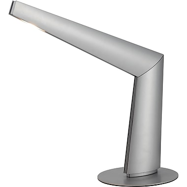 Adesso® 5092-22 Sonar LED Desk Lamp, 1 x 10 W, Steel/Silver