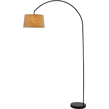 Adesso® 5098-01 Goliath Arc Lamp, 1 x 150 W, Black