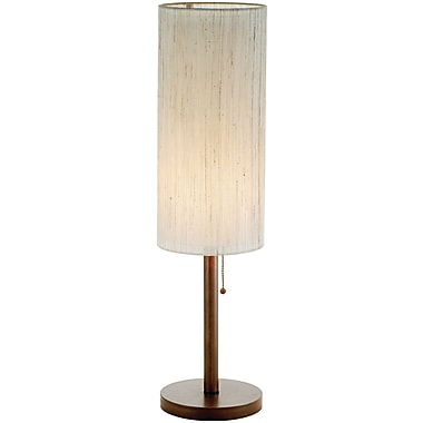 Adesso® 3337-15 Hamptons Table Lamp, 1 x 60 W, Walnut