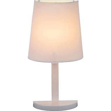 Adesso® 3380-02 Demi Table Lamp, 1 x 40 W, White
