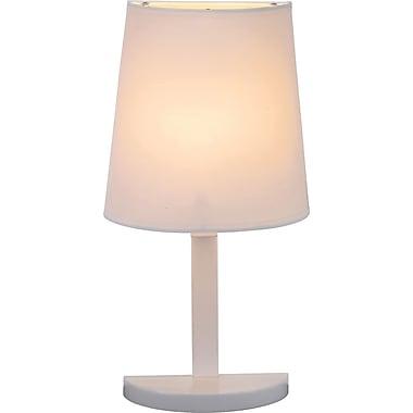 Adesso® 3380-02 Demi Table Lamp, 1 x 40 W, White