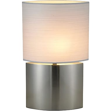 Adesso® 6421-22 Sophia Tall Table Lamp, 1 x 60 W, Satin Steel