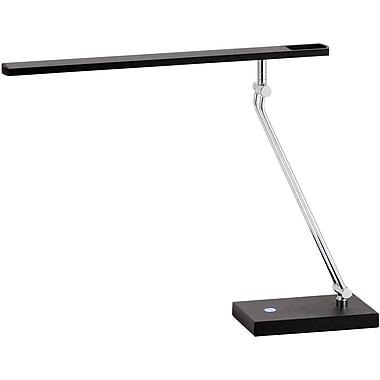 Adesso® 3392-01 Saber LED Desk Lamp, 1 x 7.2 W, Black