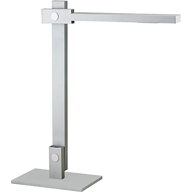 Adesso® 3653-22 Reach Desk Lamp, 1 x 7.2 W, Steel