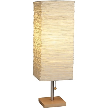 Adesso® 8021-12 Dune Table Lamp, 1 x 100 W, Natural