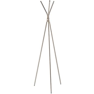 Adesso® WK2028-22 Teepee Coat Rack, Satin Steel