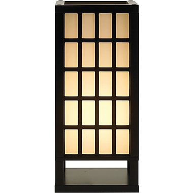 Adesso® 3670-01 Middleton Table Lantern, 1 x 60 W, Black