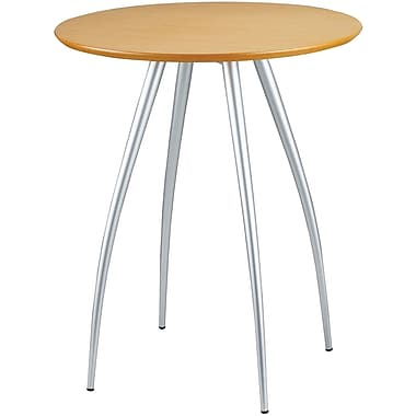 Adesso® WK2880-12 Cafe Bistro Table, Natural/Steel