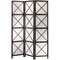 Adesso® WK3802-15 Apex Folding Screen, Dark Walnut