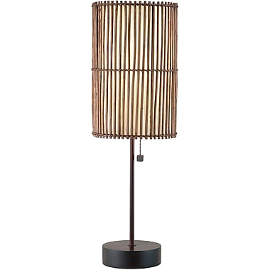 Adesso® 4024-26 Maui Table Lamp, 1 x 100 W, Antique bronze