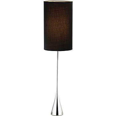 Adesso® 4028-22 Bella Table Lamp, 1 x 60 W, Chrome