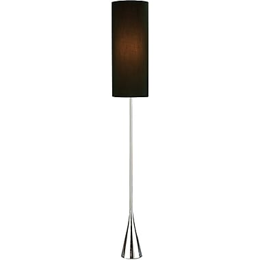 Adesso® 4029-22 Bella Floor Lamp, 1 x 100 W, Chrome