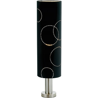 Adesso® 4060-01 Solaris Table Lamp, 1 x 60 W, Black