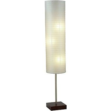 Adesso® 4099-15 Gyoza Floorchiere, 3 x 100 W, Walnut