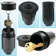"Trademark Tools™ Discrete Sprinkler Head - Hide a Key, 2"" L x 2"" W x 3 3/4"" H, 2 Set"