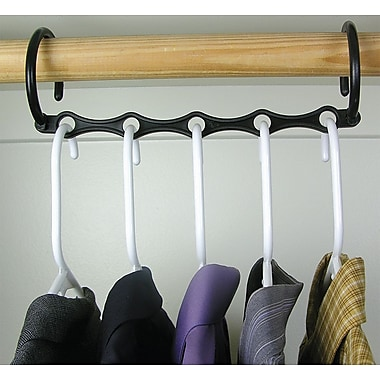 Trademark Global Set of 10 Magic Hanger, 15in. x 3in. x 7/9in., 2/Pack