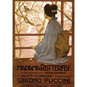 "Trademark Global ""Giacamo Puccini -Madam Butterfly"" Canvas Art, 34"" x 47"""