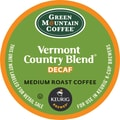 Keurig® K-Cup® Green Mountain® Vermont Country Blend® Decaf Coffee, Decaffeinated, 24 Pack