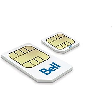 Bell - Carte Micro-SIM LTE