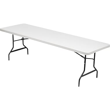 IndestrucTable TOO Folding Table 30x96, Platinum