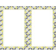 Great Papers® Fresh Slate Pinwheel Designer 2-up Invitations, 40/Pack