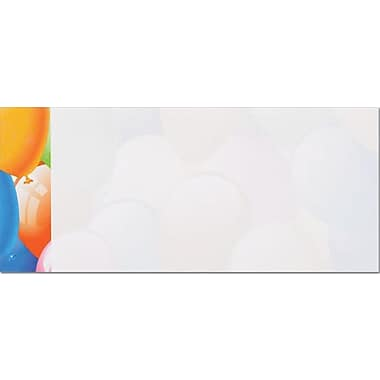 Great Papers® Balloon Border #10 Envelopes, 50/Pack