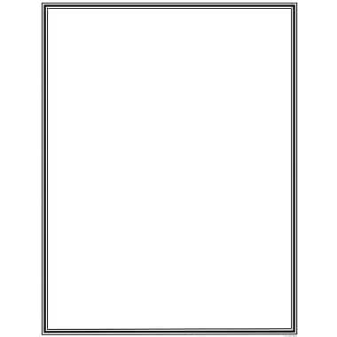 Great Papers® Engraved Border Value Letterhead, 200/Pack
