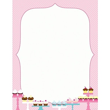 Great Papers® Whipped Cupcakes Letterhead, 100/Pack