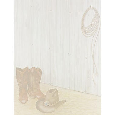 Great Papers Cowboy Boots Letterhead, 100/Pack