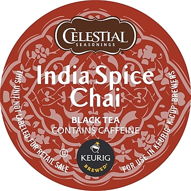 Keurig® K-Cup® Celestial Seasonings® India Chai Spice Tea, K-Cups, 24/Pack
