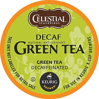 Keurig® K-Cup® Celestial Seasonings® Green Tea , Decaffeinated, 24/Pack