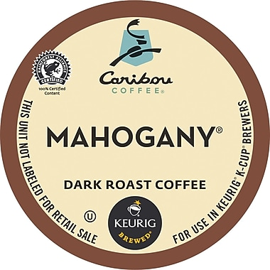 Keurig® K-Cup® Caribou Coffee® Mahogany Coffee, Regular, 24 Pack