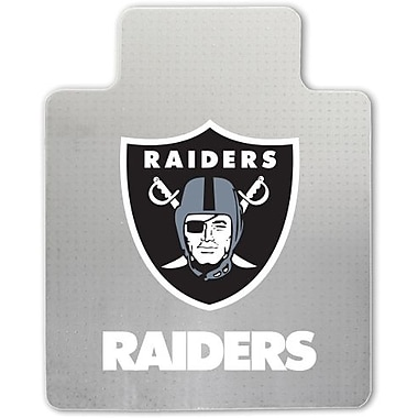 Great American Products NFL Chair Mat, Oakland Raiders