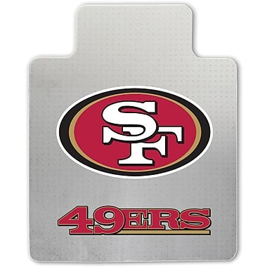 Great American Products NFL Chair Mat, San Francisco 49ers