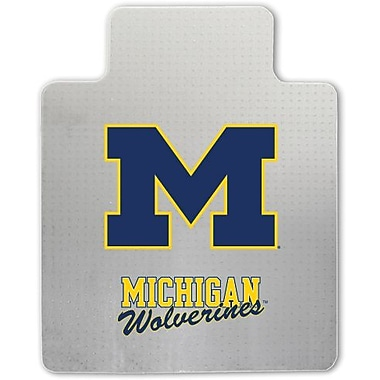 Great American Products NCAA Chair Mat, Michigan Wolverines