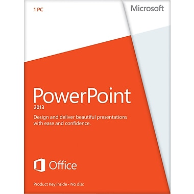 Microsoft PowerPoint 2013 for Windows (1-User) [Download]