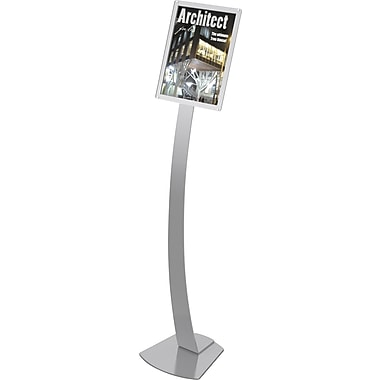 Deflecto Oversize Contemporary Sign Stand, 11in. x 17in.