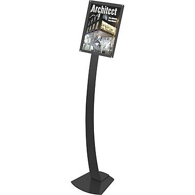Deflecto Oversize Contemporary Sign Stand, 16-1/2in. x 55-1/8in.