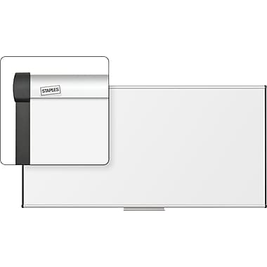 Staples Dry-Erase Board with Aluminum Frame, 8' x 4'