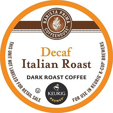 Keurig® K-Cup® Barista Prima Italian Roast Decaf Coffee, Decaffeinated, 24/Pack