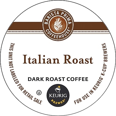 Keurig® K-Cup® Barista Prima Coffeehouse® Italian Roast Coffee, Regular, 18 Pack