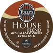 Keurig® K-Cup® Tully's® House Blend Coffee, Regular, 18 Pack