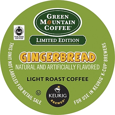 Keurig® K-Cup® Green Mountain® Gingerbread Coffee, Regular, 24/Pack