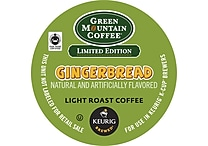 Keurig® K-Cup® Green Mountain® Gingerbread Coffee, Regular, 18 Pack