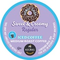 Keurig K-Cup Coffee People Original Donut Shop Sweet & Creamy Iced Coffee, 22/Pack