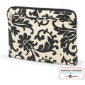 Martha Stewart Home Office with Avery Laptop Sleeve, Black Damask, 14in. x 10 1/8in. x 1in.