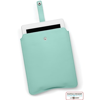 Martha Stewart Home Office with Avery 10 inch Tablet Slim Sleeve, Blue, 8 1/2in. x 10 1/2in. x 1/2in.