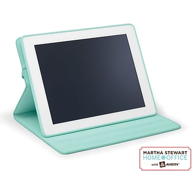 Martha Stewart Home Office with Avery Convertible Tablet Case, Blue, 8in. x  9 1/2in. x 3/4in.