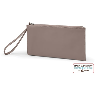 Martha Stewart Home Office with Avery Wristlet, Walnut, 8 1/2in. x 4 1/2in.