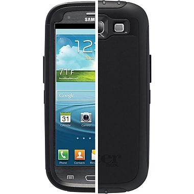OtterBox® Defender Series Case for Samsung Galaxy S III, Black